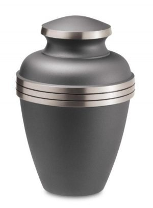Ashen Pewter Urn